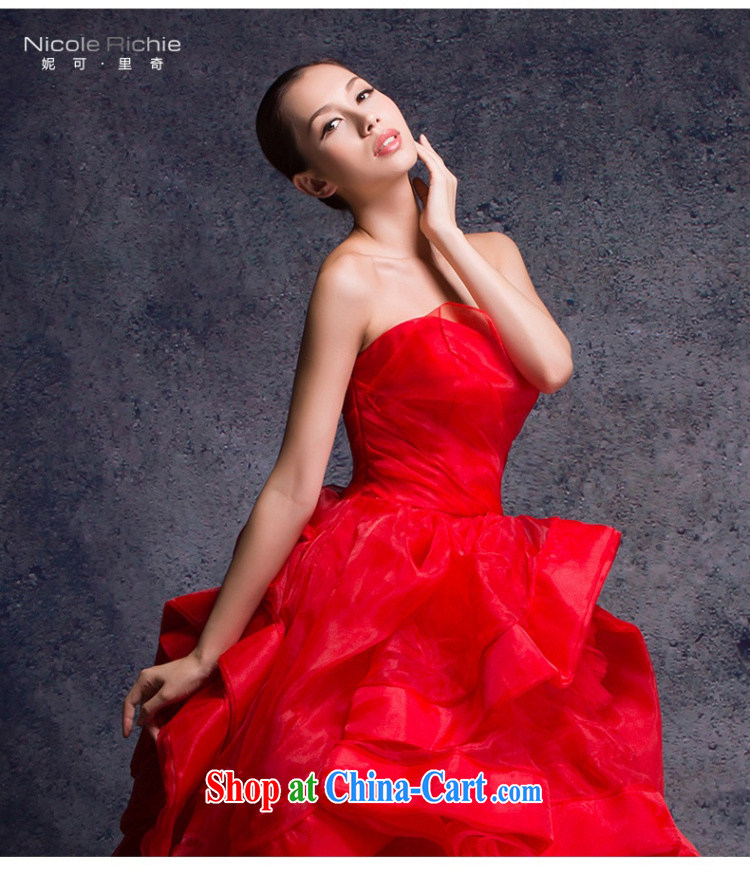 wedding dresses 2015 New Red wedding erase chest wedding with wedding pregnant larger wedding bridal marriage wedding toast stage moderator dress red Advanced Customization 15 Day Shipping pictures, price, brand platters! Elections are good character, the national distribution, so why buy now enjoy more preferential! Health