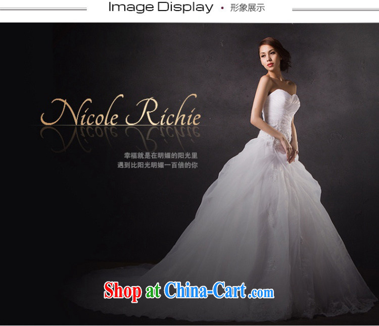 Nicole Richie wedding dresses spring 2015 new stylish and wiped his chest wedding tail wedding long-tail marriages wedding, tie-tail 200 CM Advanced Customization 15 Day Shipping pictures, price, brand platters! Elections are good character, the national distribution, so why buy now enjoy more preferential! Health