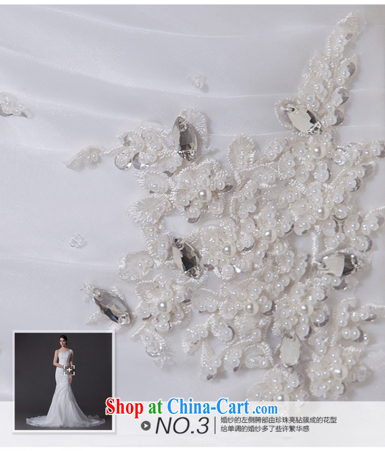 Nicole Richie wedding dresses 2015 new summer single shoulder wedding crowsfoot wedding small tail wedding bridal wedding wedding wedding band video thin large, white Advanced Customization 15 Day Shipping pictures, price, brand platters! Elections are good character, the national distribution, so why buy now enjoy more preferential! Health