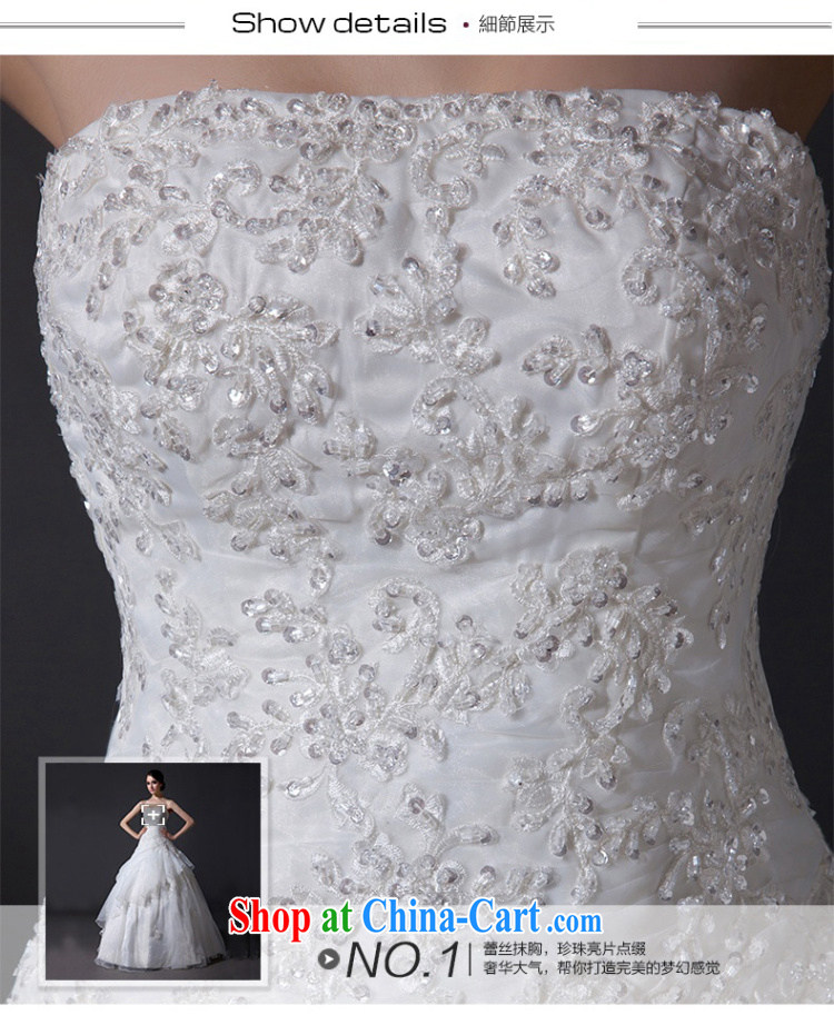 Nicole Richie wedding dresses new 2015 stylish wiped his chest wedding with wedding shaggy dress bridal wedding dresses wedding wedding band larger wedding white Advanced Customization 15 Day Shipping pictures, price, brand platters! Elections are good character, the national distribution, so why buy now enjoy more preferential! Health