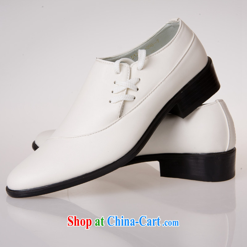 Lisa Donald Rumsfeld's men's shoes, white Fashion Shoes, men's wedding shoes stage shoes, boutique men's shoes UI 89 white 44 is code