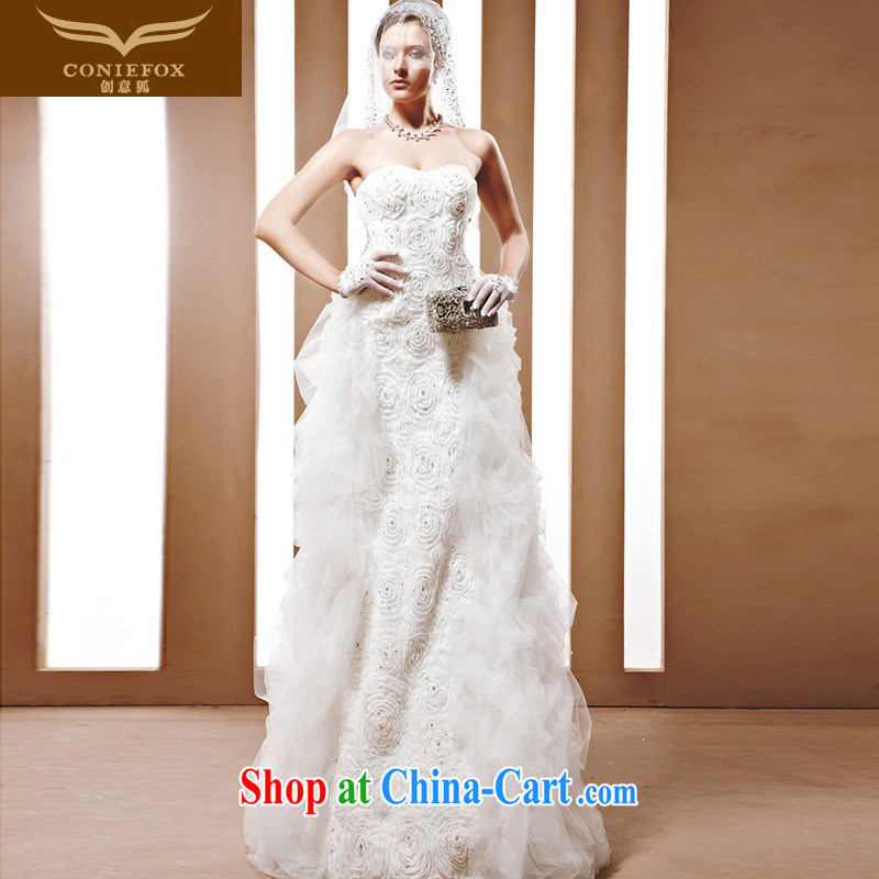 Creative Fox wedding dress Gerhard Schroeder, WTO, water drilling only American photography wedding photo building wedding wedding custom 90,012 white tailored