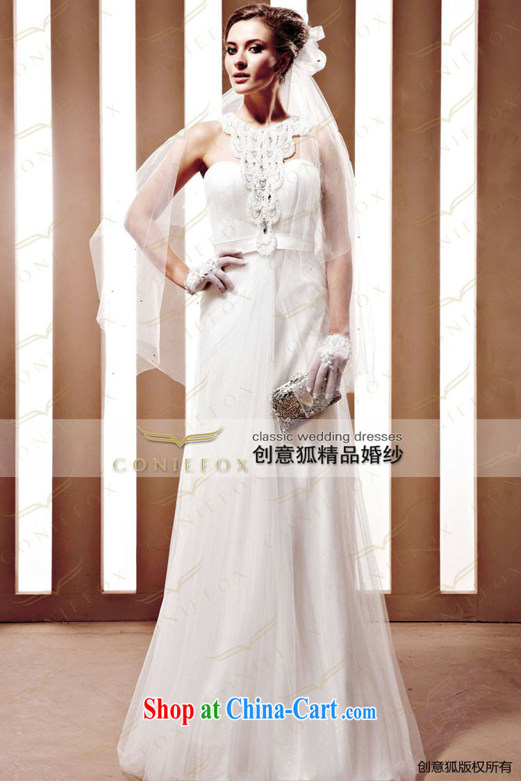 Creative Fox The bride wedding dress Western wedding winter high-end custom wedding 90,025 tailored pictures, price, brand platters! Elections are good character, the national distribution, so why buy now enjoy more preferential! Health