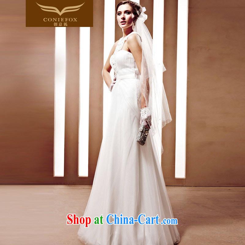 Creative Fox The bride wedding dress Western wedding winter high-end custom wedding 90,025 tailored creative Fox (coniefox), online shopping