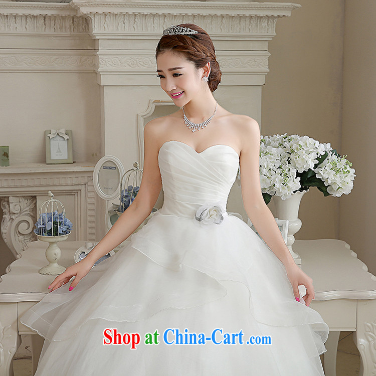 Rain is still Yi marriages 2015 new stylish and wiped his chest white minimalist princess in Europe and America, the tie video thin wedding HS 884 white tailored final pictures, price, brand platters! Elections are good character, the national distribution, so why buy now enjoy more preferential! Health