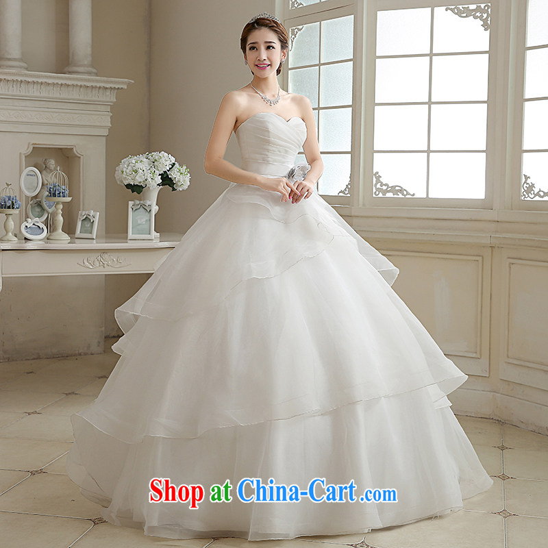 Rain is still Yi marriages 2015 new stylish and wiped his chest white minimalist princess in Europe and America, the tie-down graphics thin wedding HS 884 white tailored final, rain is still clothing, shopping on the Internet