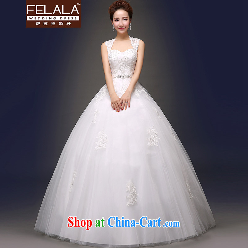 Ferrara 2015 new wedding sweet package shoulder alignment to erase chest wedding XL _2 feet 2_