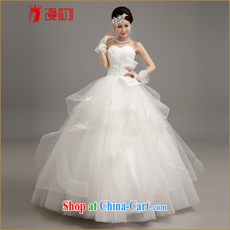 Early definition 2015 new wedding dresses Korean shaggy dress with wedding wiped his chest graphics thin Princess with straps wedding white. Contact customer service, animated, and, shopping on the Internet