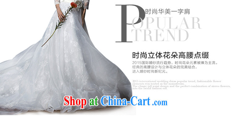 With the 2015 new Ling Xuan erase chest lace a field shoulder long-sleeved tail bridal wedding dresses white XL pictures, price, brand platters! Elections are good character, the national distribution, so why buy now enjoy more preferential! Health