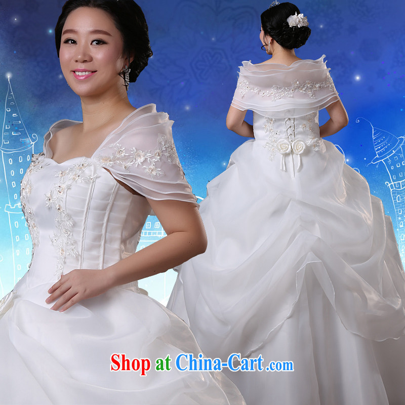 Moon 珪 guijin 2014 Winter Olympics, tied with a video thin increase, the fat girl mm wedding Professional Code white XXXXXL scheduled 5 day shipping