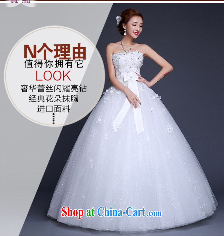 Sophie Abby wedding dresses new 2015 summer Korean lace stylish wiped chest bridal wedding dress high waist with graphics thin wedding female white XXL pictures, price, brand platters! Elections are good character, the national distribution, so why buy now enjoy more preferential! Health
