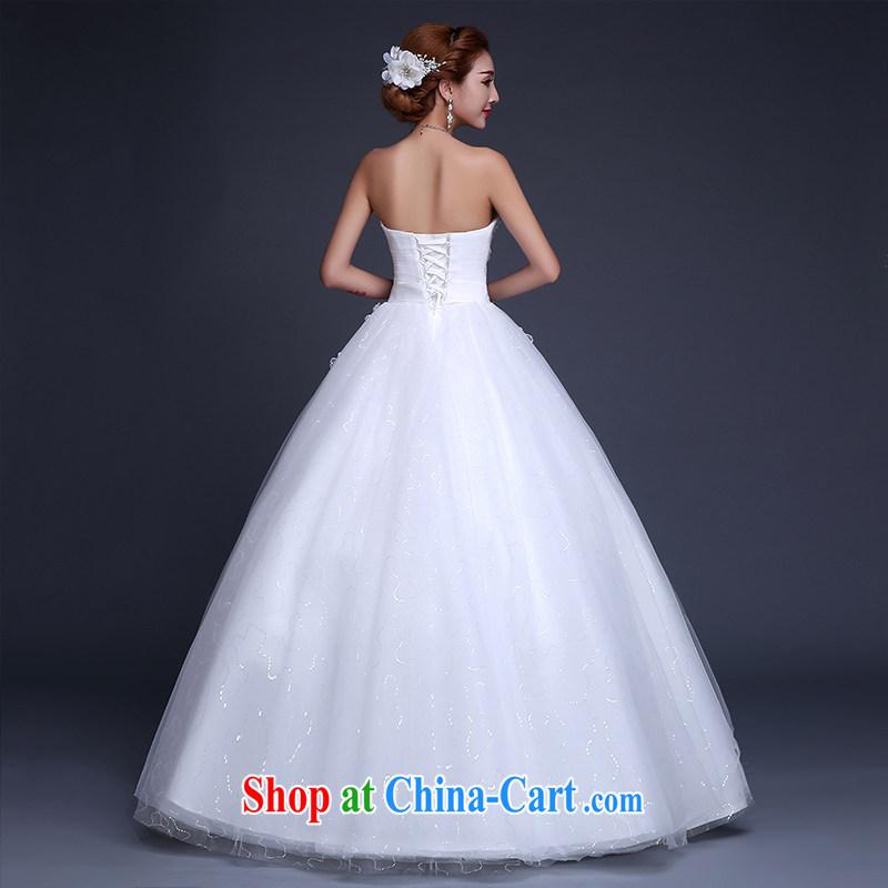 Sophie HIV than wedding dresses new 2015 summer Korean lace stylish erase chest bridal wedding dress high waist with graphics thin wedding female white XXL, than AIDS (SOFIE ABBY), online shopping