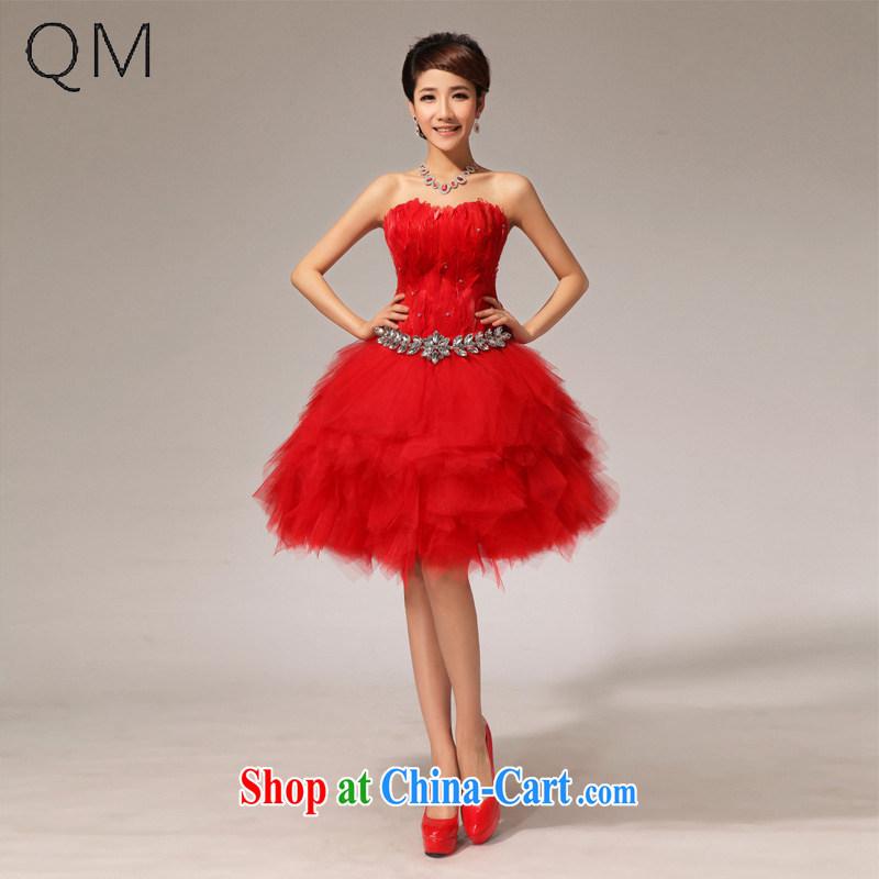 Shallow end bows dress uniform red dress small dress CTX LF 117 red XXL