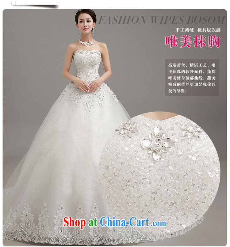Early definition 2015 wedding dresses Korean wiped chest graphics thin tail wedding dresses with straps shaggy dress wedding large white tail. Contact customer service pictures, price, brand platters! Elections are good character, the national distribution, so why buy now enjoy more preferential! Health