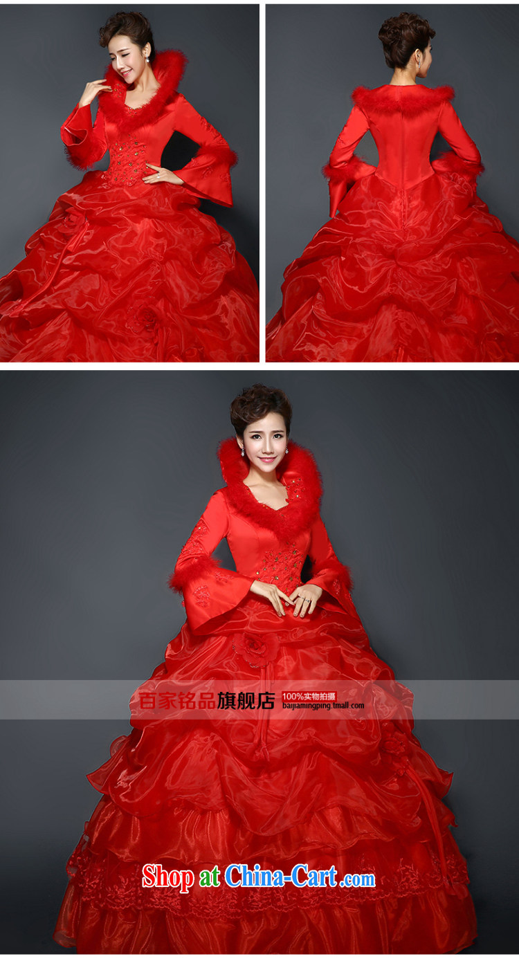 Red wedding dresses, winter 2015 new stylish red winter and cotton thick long-sleeved wool for the code graphics thin winter clothes wedding new promotions and package mailred Custom size 7 Day Shipping pictures, price, brand platters! Elections are good character, the national distribution, so why buy now enjoy more preferential! Health