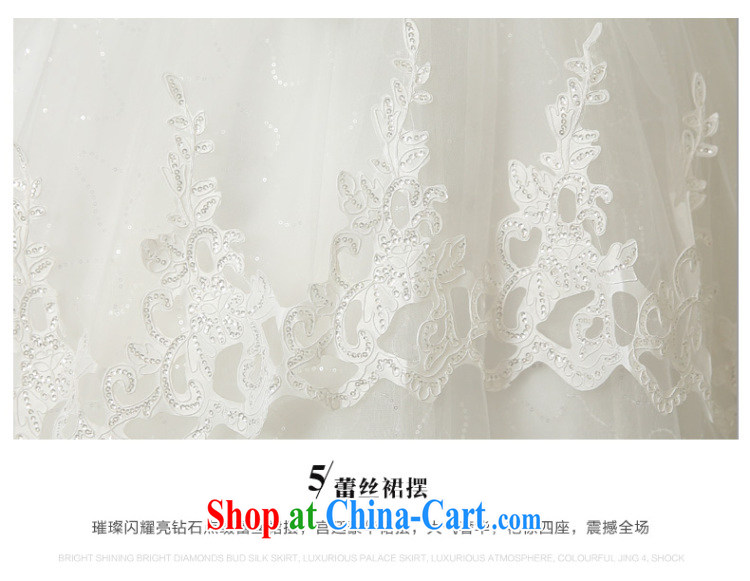 wedding dresses new 2015 summer Korean fashion the waist panels drill wiped chest bridal, lace with graphics thin white wedding canopy skirts and white Custom size 7 Day Shipping pictures, price, brand platters! Elections are good character, the national distribution, so why buy now enjoy more preferential! Health