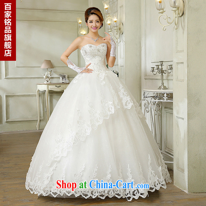 wedding dresses new 2015 summer Korean fashion the waist panels drill wiped chest bridal, lace with graphics thin white wedding canopy skirts and white Custom size 7 day shipping