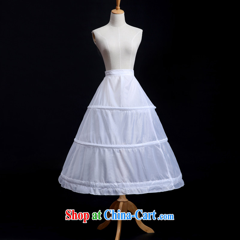 Sophie AIDS more than 3 steel ring double yarn with tail wedding dress stays private skirt stays white