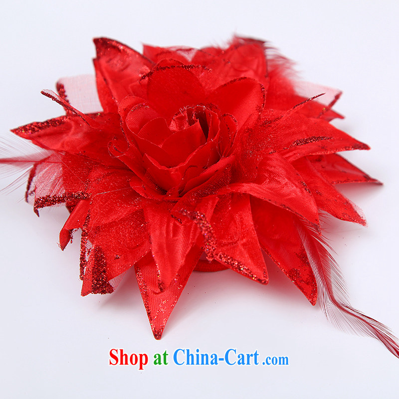 Sophie HIV than marriages wedding accessories red and flowers wedding dresses dresses with jewelry and ornaments red