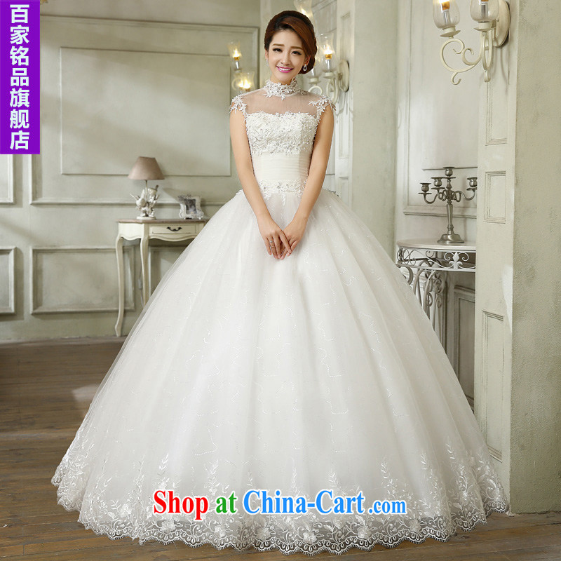 Bridal Suite 2015 new Korean-cultivating a Field shoulder bag shoulder lace marriages with straps, on-chip pregnant women receiving lumbar shaggy dress wedding new promotional white Custom size 7 day shipping