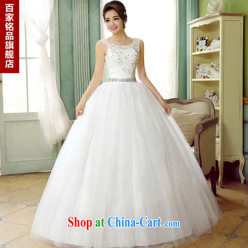 wedding dresses 2015 summer new stylish erase Chest straps lace inserts drill brides field shoulder larger graphics thin shaggy dress wedding pregnant high waist custom white Custom size 7 day shipping