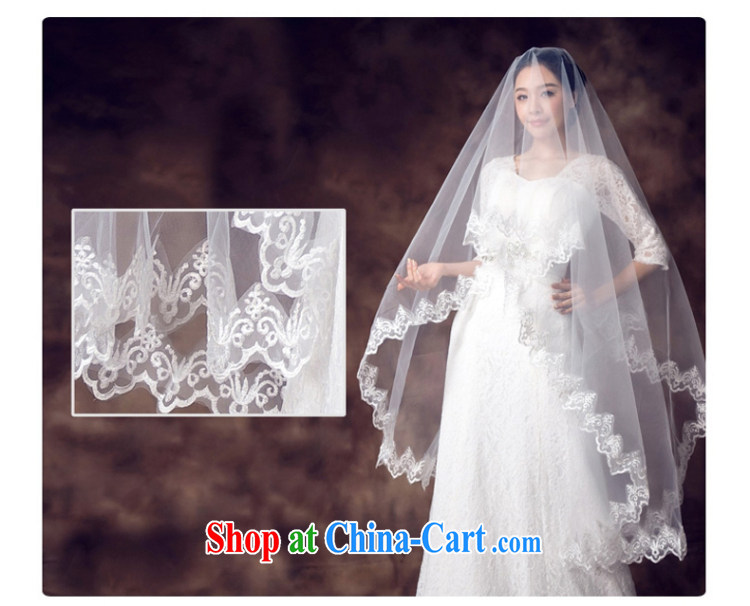 White bridal head dresses wedding dresses 2015 winter new Korean version 3m multi-layer bridal accessories white head yarn white pictures, price, brand platters! Elections are good character, the national distribution, so why buy now enjoy more preferential! Health