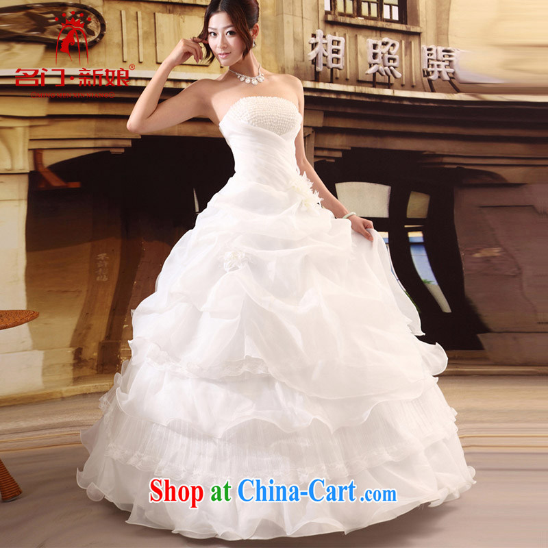 The bride's wedding dresses new Korean-style wedding dresses Princess sweet wiped his chest, wedding band 531 L