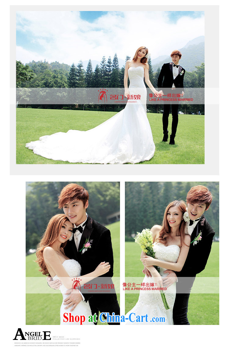 The wedding dresses 2015 new sexy lace crowsfoot erase chest Korean Princess tail wedding 936 L pictures, price, brand platters! Elections are good character, the national distribution, so why buy now enjoy more preferential! Health
