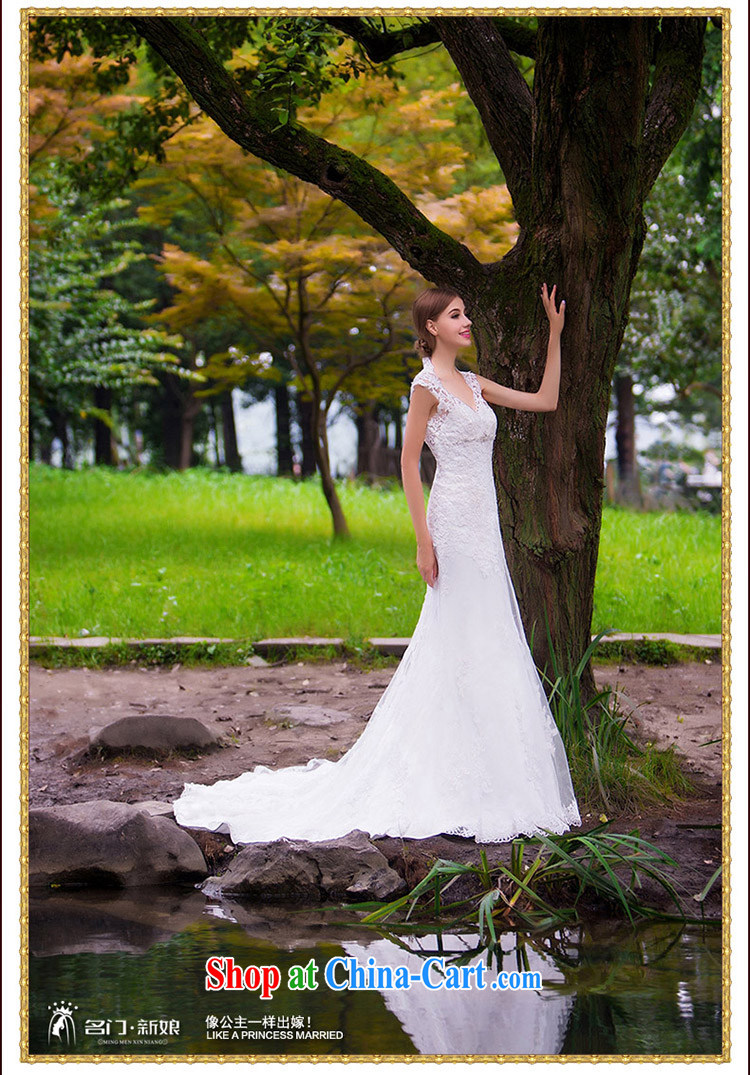 The bride's wedding dresses new 2015 new stylish wedding crowsfoot wedding bridal wedding 863 L pictures, price, brand platters! Elections are good character, the national distribution, so why buy now enjoy more preferential! Health