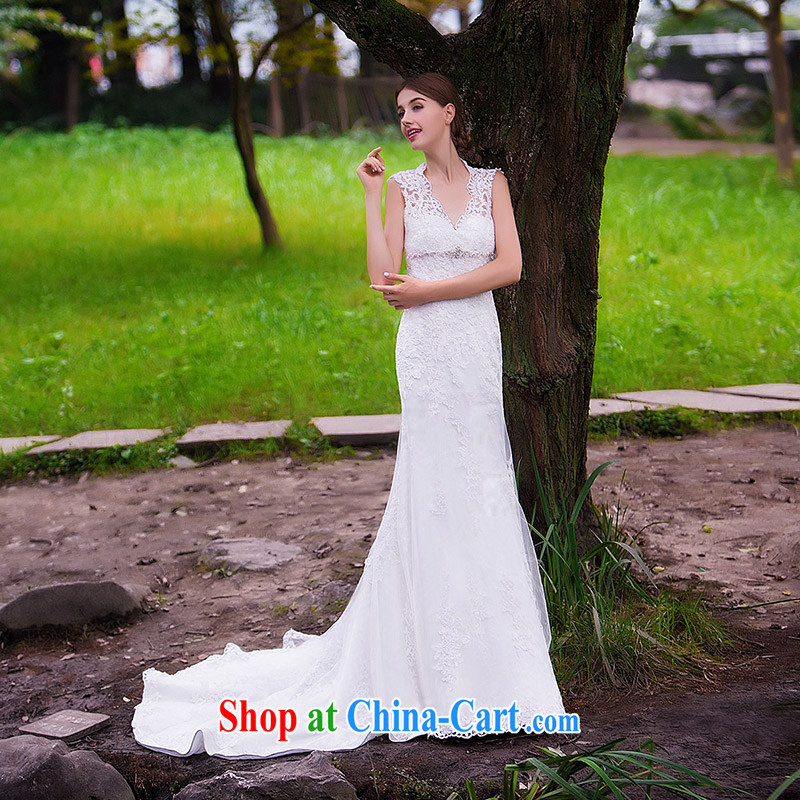 The bride's wedding dresses new 2015 new stylish wedding crowsfoot wedding bridal wedding 863 L, the bride, shopping on the Internet