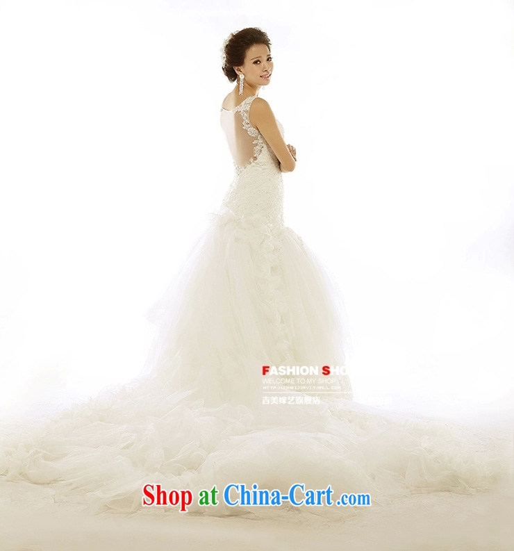 wedding dresses Jimmy married arts 2015 new lace high-end Korean tail 7312 bridal wedding B version XXXL pictures, price, brand platters! Elections are good character, the national distribution, so why buy now enjoy more preferential! Health