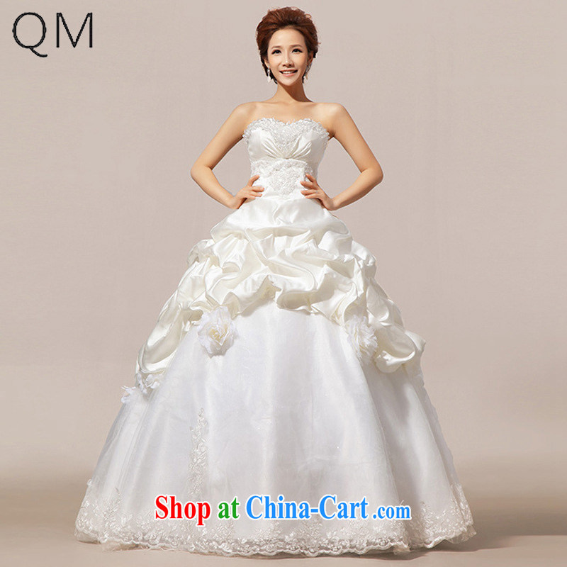 Shallow end _QM_ Wedding wedding Korean Princess vera wang wedding CTX HS 20 m White XXL