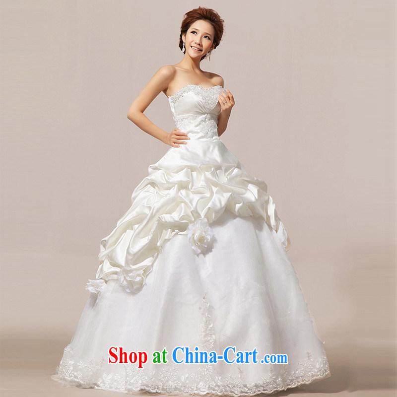 Light (at the end QM) Wedding wedding Korean Princess vera wang wedding CTX HS 20 m White XXL, shallow end, shopping on the Internet