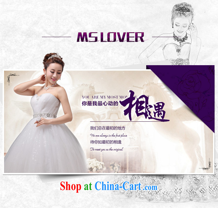 MSLover Korean version with straps bridal wedding Princess the waist graphics thin wedding manually staple Pearl sweet Mary Magdalene chest lace wedding HS 131,005 white tailored pictures, price, brand platters! Elections are good character, the national distribution, so why buy now enjoy more preferential! Health
