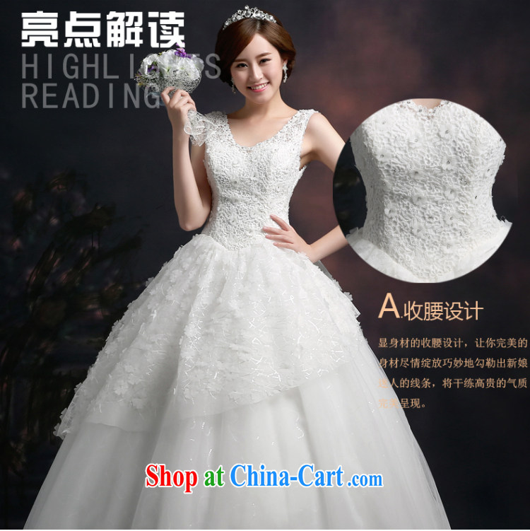 Ting Beverly wedding dresses 2015 new stylish marriages shoulders Wedding Video thin beauty lace Korean white with white XXL pictures, price, brand platters! Elections are good character, the national distribution, so why buy now enjoy more preferential! Health
