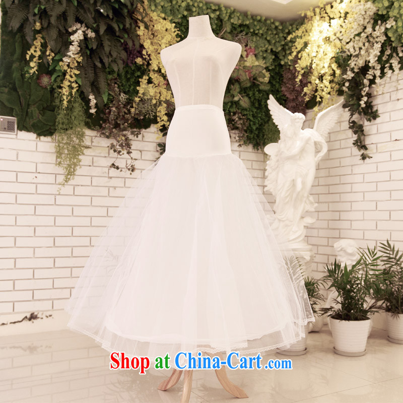 The bride's wedding dresses accessories bridal petticoat A Field dress with skirt stays shaggy 004