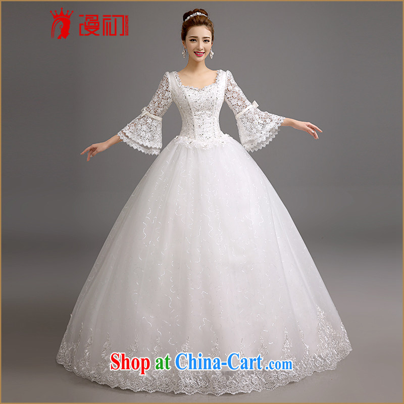 Early definition 2015 new marriages wedding winter Korean video thin the Field shoulder wedding winter marriages horn cuff wedding white. Contact customer service