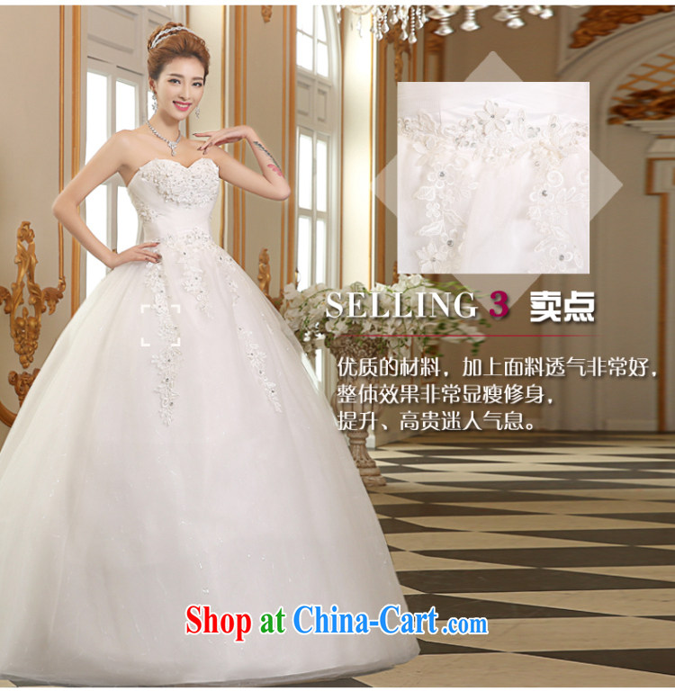 The Vanessa wedding dresses 2015 summer new erase chest wedding with wedding marriages wedding white lace larger wedding beauty chest Mary Magdalene wedding white XL (+ shawls) pictures, price, brand platters! Elections are good character, the national distribution, so why buy now enjoy more preferential! Health