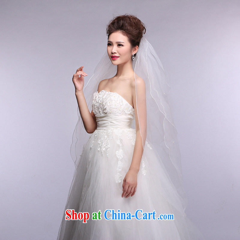 Hi Ka-hi 2014 new wedding dresses and multi-layer butterfly knot Pearl and yarn soft Web yarn XT 01 white, code, hi Ka-hi, shopping on the Internet