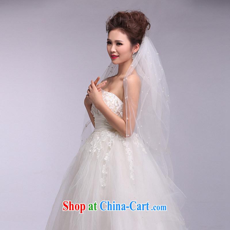 Hi Ka-hi 2014 new wedding dresses and multi-layer Pearl head yarn soft Web yarn XT 02 white, code, hi Ka-hi, shopping on the Internet