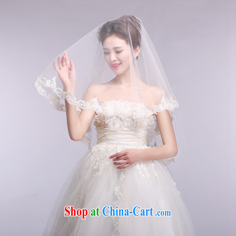 Hi Ka-hi 2014 new wedding and yarn lace lace and yarn soft Web yarn XT 06 white are code