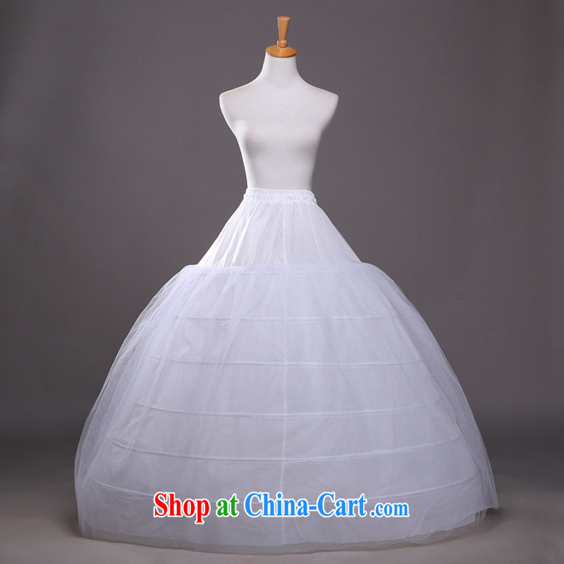 Hi Ka-summer 2014 new 3 ring the yarn large flouncing with shaggy dress bridal wedding dress stays QC 08 white are code