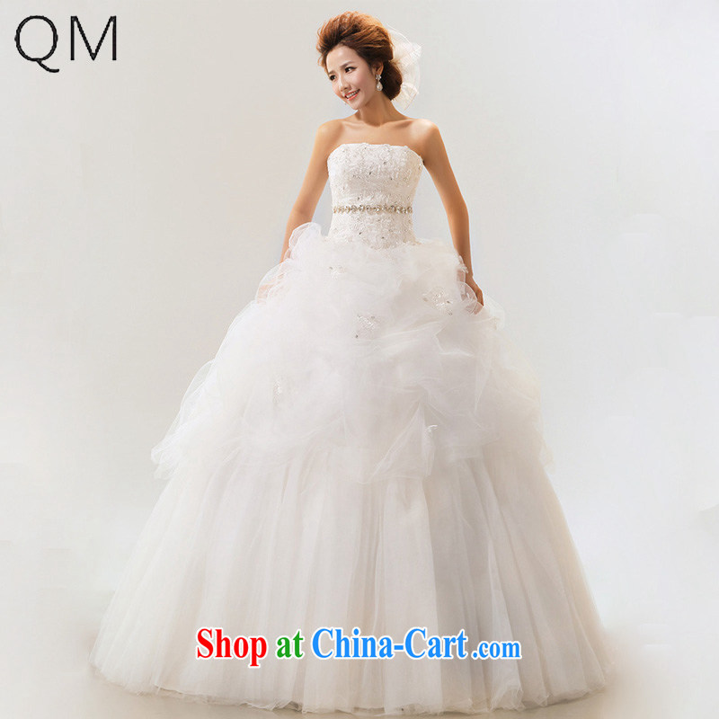 Light (at the end QM) Wedding wedding sweet Mary Magdalene chest wedding dresses with straps bridal wedding dresses CTX white XXL
