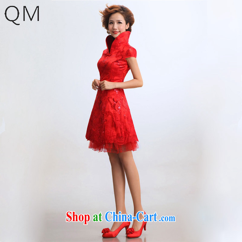 Shallow end (QM) short dresses bridal wedding wedding dresses bridal dresses CTX red XXL