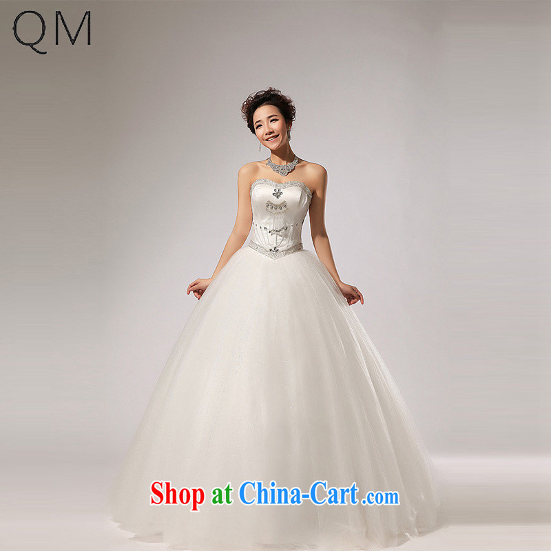 Light _at the end_ QM erase chest parquet drill with shaggy dress wedding fall dress CTX HS 260 meters white XXL