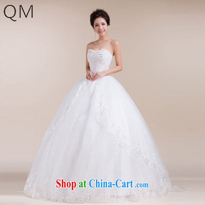 Light _at the end_ QM skirts and earth-erase chest waist the bowtie stylish wedding dresses CTX HS 552 meters white XXL