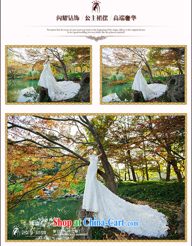 The bride's wedding dresses new 2015 stylish Original Design crowsfoot large tail wedding 2531 L pictures, price, brand platters! Elections are good character, the national distribution, so why buy now enjoy more preferential! Health