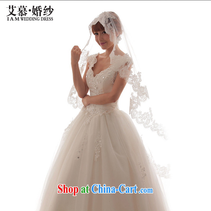 The AIDS 2015 new wedding advanced custom bridal wedding and yarn import eyelashes lace