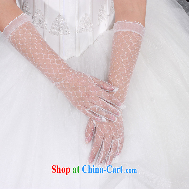 With the 2015 new HIV, wedding wedding accessories gloves lace Openwork the long white, AIDS, and, shopping on the Internet