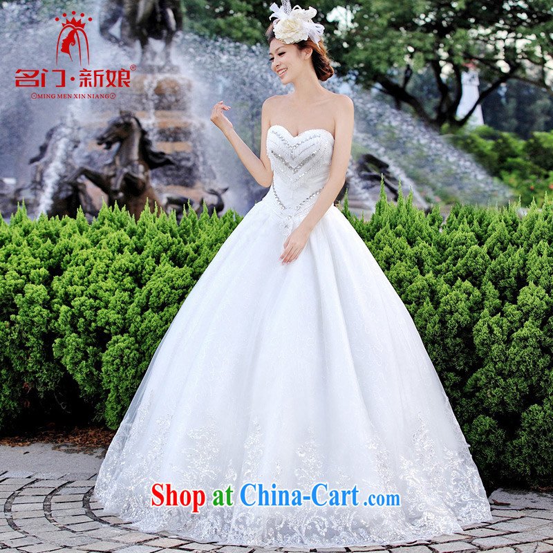 The bride's wedding dresses Korean Princess wedding with minimalist wedding new 903 L